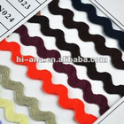 zigzag ribbon/Ricrac Ribbon/PP Ribbon for garment