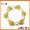 gold shamballa crystal ball bracelet