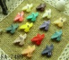 bird shaped beads, fashion jewelry beads.mix colors,Resin beaded cabochon