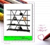 New design storage rack 332#