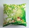 lovely cartoon 100% cotton printed cushion /cushion cover