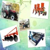 All types of tractors and china tractor implements
