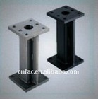 Welded Steel Stands- Selectable Hole Type and Size, Configurable Hole Position & Height