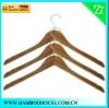 Bamboo hanger for shirt