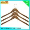 Bamboo hanger for shirt