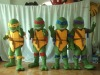 4 TMNT(Teenage Mutant Ninja Turtle ) cartoon costume