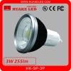 AL+PC 85-265V 3W GU10 LED Spotlight with CE PSE FCC Approval