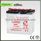DRY CHARGED MAINTENANCE FREE AUTOMOBILE BATTERY 12V 40AH