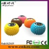 Mini massaging ball speaker with usb2.0 and FM radio