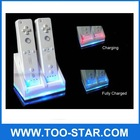 Blue light Charge Station Including 1800mAH Rechargeable Battery