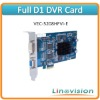 Linovision 8ch VEC-5208HFVI-E DVR Card, featured with full D1 recording and 1 channels matrix video output