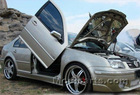Volkswagen GOLF 4/5 Vertical Lambo Doors kit - LSD style