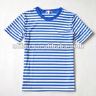 Women's Popular O Neck Stripe t shirt