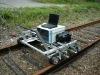 Rail automatic or semi-automatic non-destructive ultrasonic testing