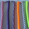 Colorful cotton shoe lace