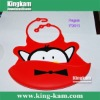 2011 fashionable bibs for baby with penguin design