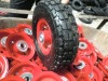 "10"" trolly air wheel 3.50-4"