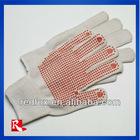 Work Red Dot Gloves conforms to EN388