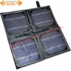 Portable & Durable 10W 18V Solar Panels Set With Output Connector For Notebook, Netbook, Outdoor