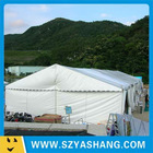 Light aluminum frame canvas tent 20m UV cut