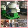Flat-die wood pelletizing machine