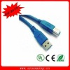 5FT V3.0 blue USB Cable for Printer