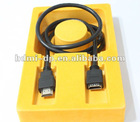 hot sell high quality hdmi female to hdmi male a type cable for TV