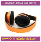 New style low cost OEM studio handsfree headphones