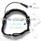 walkie talkie Throat Mic two way radio Throat Mic big PTT throat mic