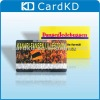 plastic card for printing