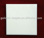 China white marble tile (white glass tile)