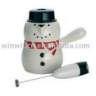 Snowman Hot Chocolate Pot