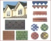 colour roofing shingles