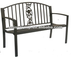 Steel public 3 seater waiting chairHL-B-09006