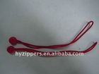 Fashionable design plastic rope zipper puller