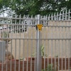 galvanized palisade fence (Hot Sell)