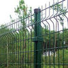Galvanized and PVC Coated Metal Fence