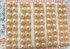 wholesale 7.5mm pink freshwater pearl earring beads
