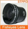 52mm 0.25x Camera Fisheye Wide Angle Lens