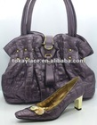 2012 HOT DESIGN LADY SHOES AND MATCHING BAG SET