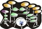 18 keys flexible Silicone Electronic Drum kit