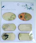 6 designs garden wooden crafts for hobby