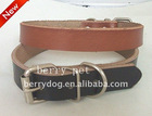 100% gunuine leather dog collars dog collars and leashes