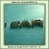 Plastic Chrome Logo Car Sticker (3D letters design)