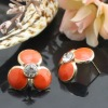 fashion earing jewellery with flower shaped