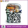2011 new style portable foldable cooler shopping basket