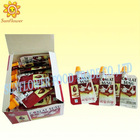 Box Package Popping Candy With Chocolate Jam