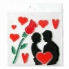 Valentine's Day Sticker(promotion gift & epoxy sticker)