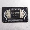 leather garment label