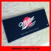 3D rubber soft pvc OEM logo bar runner